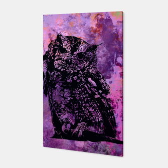 Thumbnail image of black owl Canvas, Live Heroes