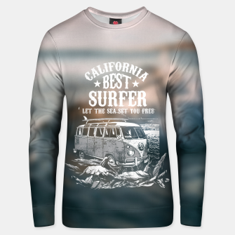 Miniatur Let the Sea Set You Free Unisex sweater, Live Heroes