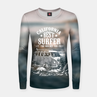 Miniatur Let the Sea Set You Free Women sweater, Live Heroes