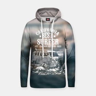 Miniatur Let the Sea Set You Free Hoodie, Live Heroes