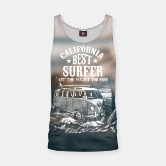 Miniatur Let the Sea Set You Free Tank Top, Live Heroes
