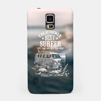 Miniatur Let the Sea Set You Free Samsung Case, Live Heroes
