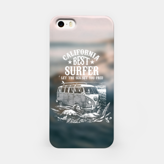 Miniatur Let the Sea Set You Free iPhone Case, Live Heroes