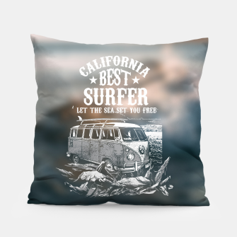 Miniatur Let the Sea Set You Free Pillow, Live Heroes