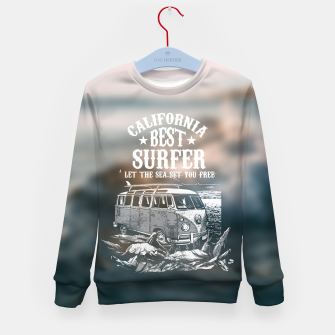 Miniatur Let the Sea Set You Free Kid's sweater, Live Heroes