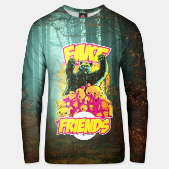 Thumbnail image of Fake Friends Unisex sweater, Live Heroes
