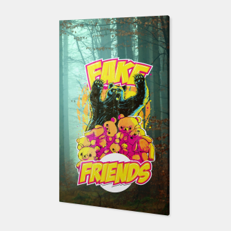 Thumbnail image of Fake Friends Canvas, Live Heroes