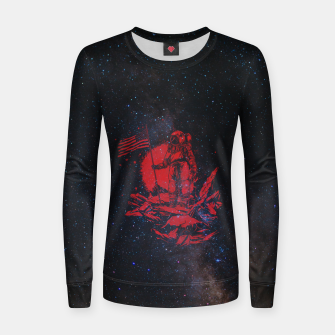 Thumbnail image of The American Astronaut Women sweater, Live Heroes
