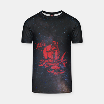 Thumbnail image of The American Astronaut T-shirt, Live Heroes