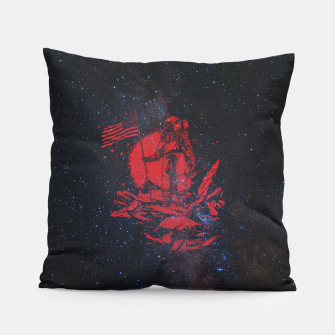 Thumbnail image of The American Astronaut Pillow, Live Heroes