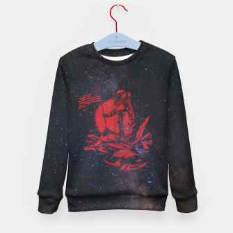 Thumbnail image of The American Astronaut Kid's sweater, Live Heroes