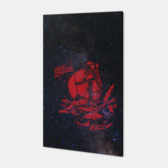 Thumbnail image of The American Astronaut Canvas, Live Heroes