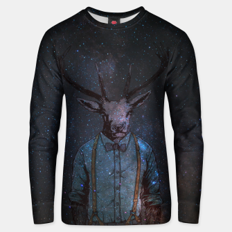 Space Deer Unisex sweater thumbnail image