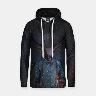 Thumbnail image of Space Deer Hoodie, Live Heroes
