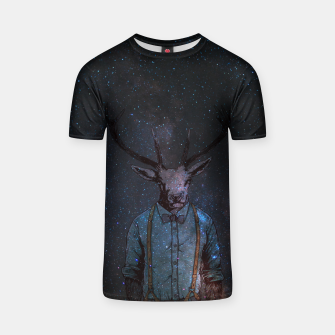 Space Deer T-shirt miniature
