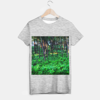 Thumbnail image of Patchy Sunlight in The Woods T-shirt regular, Live Heroes