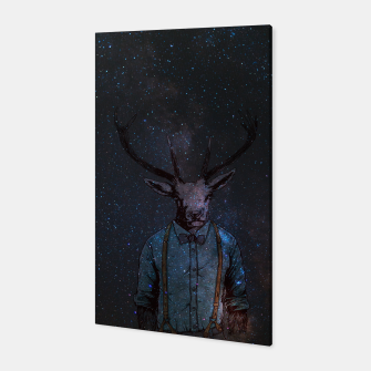 Space Deer Canvas miniature