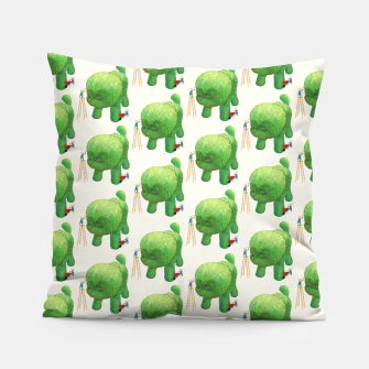 Thumbnail image of Topiary Dog Pillow, Live Heroes