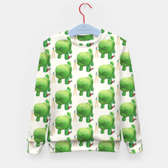 Thumbnail image of Topiary Dog Kid's sweater, Live Heroes