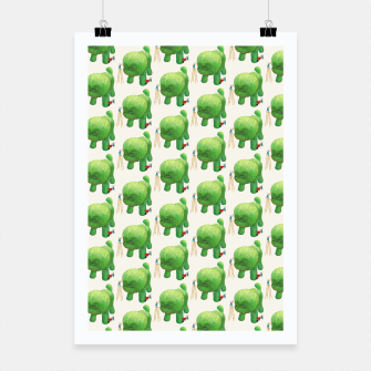 Thumbnail image of Topiary Dog Poster, Live Heroes