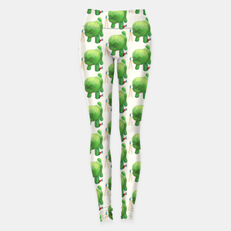 Thumbnail image of Topiary Dog Leggings, Live Heroes