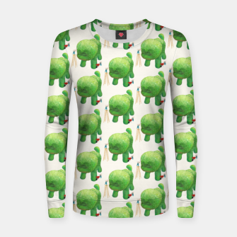 Thumbnail image of Topiary Dog Women sweater, Live Heroes