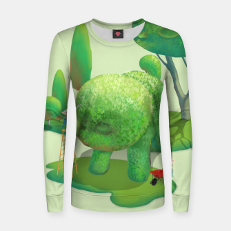 Thumbnail image of Topiary Garden Women sweater, Live Heroes