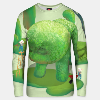 Thumbnail image of Topiary Garden Unisex sweater, Live Heroes