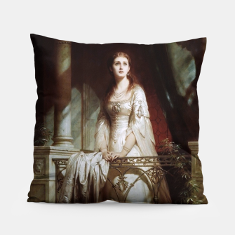 Thumbnail image of Juliet by Thomas-Francis Dicksee Pillow, Live Heroes