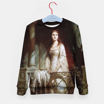 Thumbnail image of Juliet by Thomas-Francis Dicksee Kid's sweater, Live Heroes