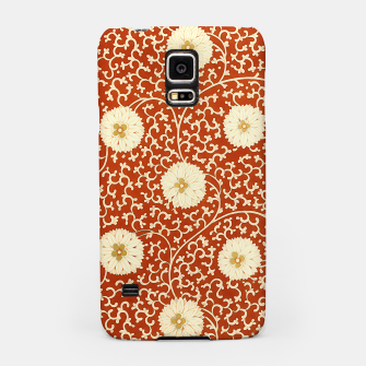Thumbnail image of cream dahlia pattern - elegant Chinese motifs  Samsung Case, Live Heroes