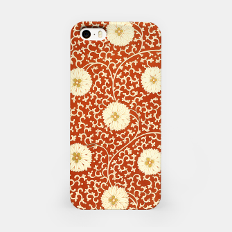 Thumbnail image of cream dahlia pattern - elegant Chinese motifs  iPhone Case, Live Heroes
