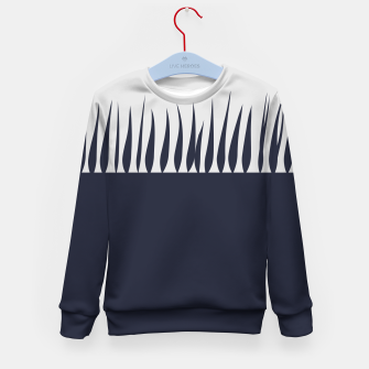 Thumbnail image of Growing Blue Kid's sweater, Live Heroes