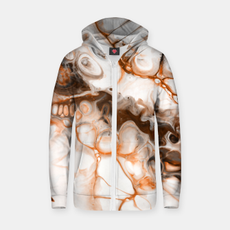 Thumbnail image of Broken Abstract Zip up hoodie, Live Heroes