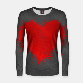 Thumbnail image of Red Heart Women sweater, Live Heroes