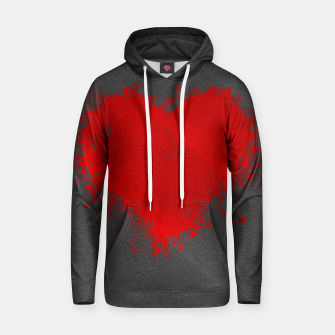Thumbnail image of Red Heart Hoodie, Live Heroes