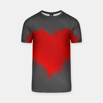 Thumbnail image of Red Heart T-shirt, Live Heroes