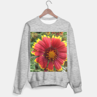Thumbnail image of Red and Orange Flower Sweater regular, Live Heroes