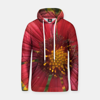 Thumbnail image of Red and Orange Flower Hoodie, Live Heroes