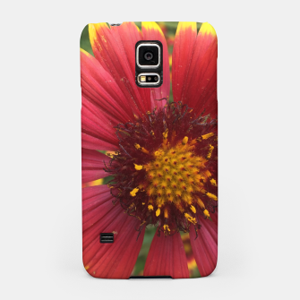 Thumbnail image of Red and Orange Flower Samsung Case, Live Heroes