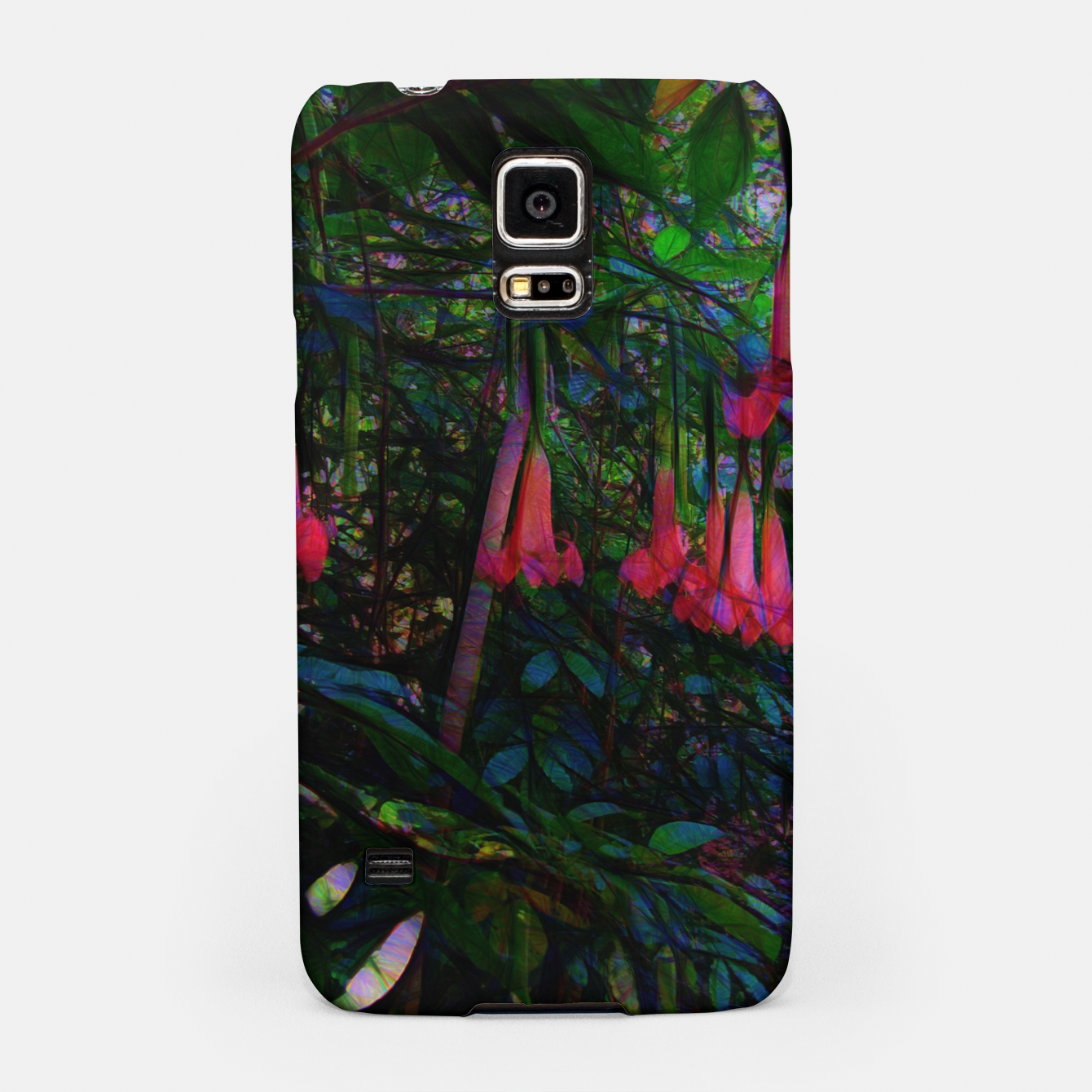 Image of Pink Trumpet Flowers Samsung Case - Live Heroes