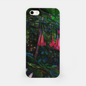 Pink Trumpet Flowers iPhone Case thumbnail image