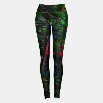 Pink Trumpet Flowers Leggings thumbnail image