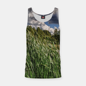 Thumbnail image of Reeds Along a Campground Lake Tank Top, Live Heroes