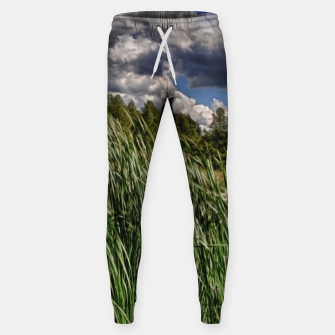 Thumbnail image of Reeds Along a Campground Lake Sweatpants, Live Heroes
