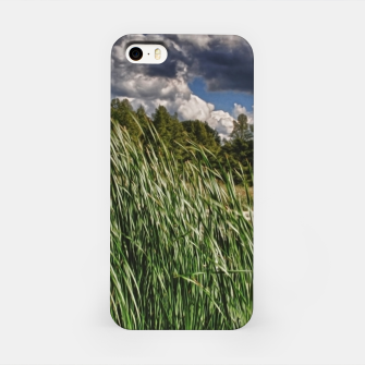 Thumbnail image of Reeds Along a Campground Lake iPhone Case, Live Heroes