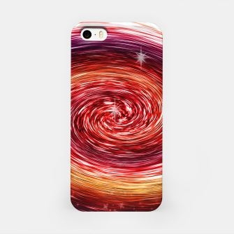 Thumbnail image of Rainbow Sparkle Swirl iPhone Case, Live Heroes