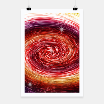 Thumbnail image of Rainbow Sparkle Swirl Poster, Live Heroes