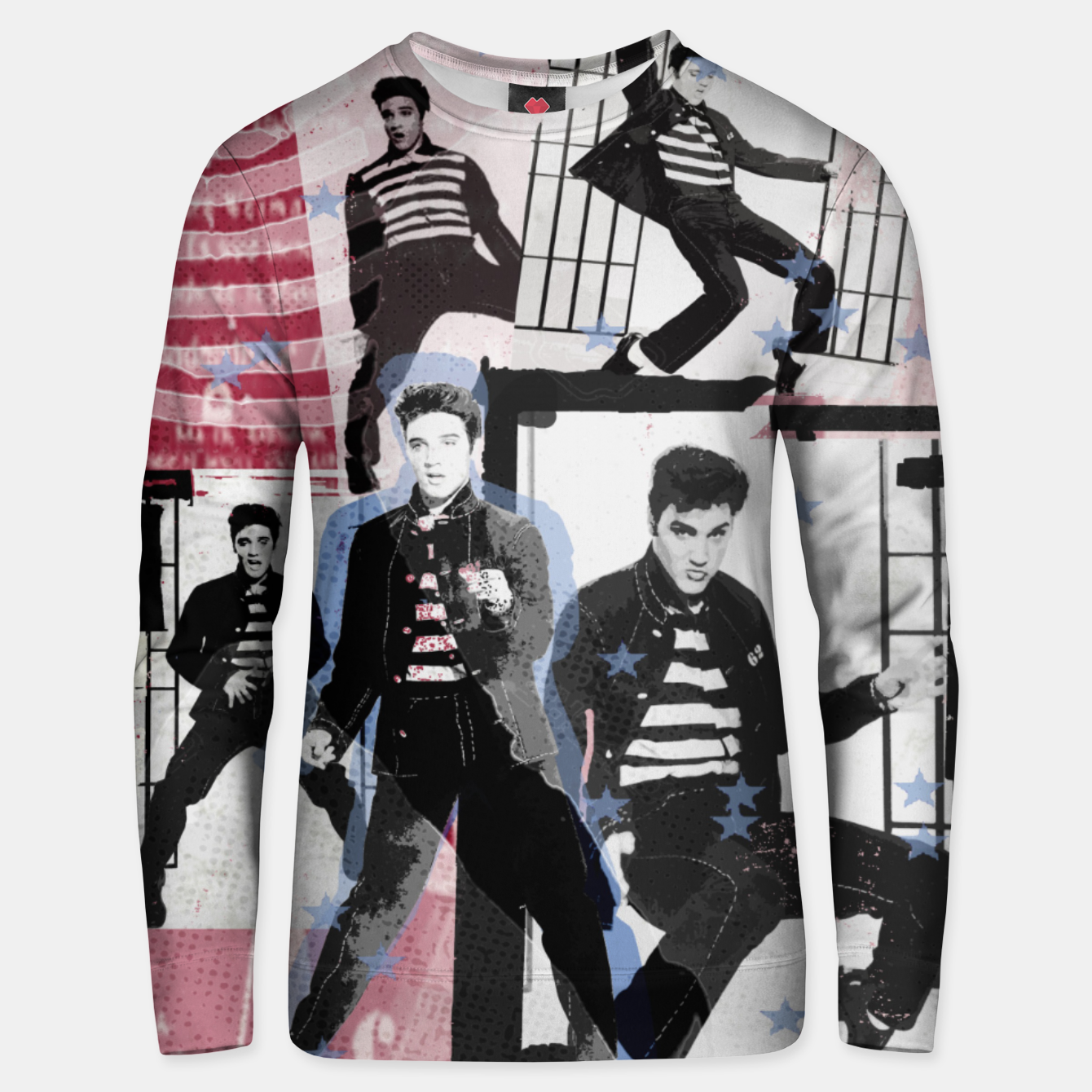 Foto Jail House rock collage Unisex sweater - Live Heroes
