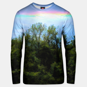 Thumbnail image of Rockford Park With Rainbow Unisex sweater, Live Heroes
